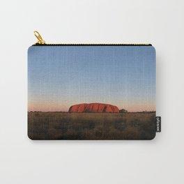 Uluru Sunset I Northern Territory, Australia I Travel Photography Carry-All Pouch