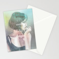 Walks in Beauty Stationery Cards