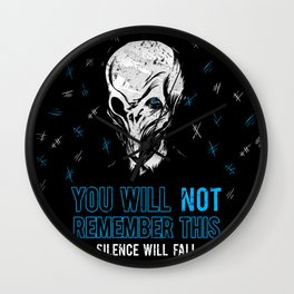 You will not remember this. (Second Version) Wall Clock