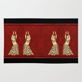 Belly dancer 3 Rug