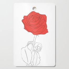 rose Cutting Board