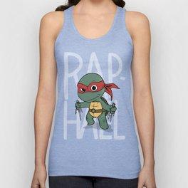 TMNT: Raphael (Cute & Dangerous) Unisex Tank Top
