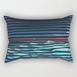 Wave #3 Rectangular Pillow