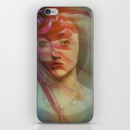 Last century woman iPhone Skin