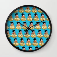 goku Wall Clocks featuring Son Goku by husavendaczek