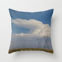 giants Throw Pillows featuring Giants by Claire Laminen Photo