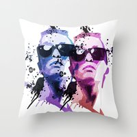 30 rock Throw Pillows featuring 30. by BABA-G | arts and crafts