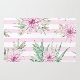 Simply Striped Cactus Desert Rose Pink Rug
