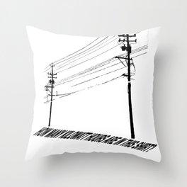 Electricity1 Throw Pillow