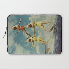 On Evil Beach - Sharks Laptop Sleeve