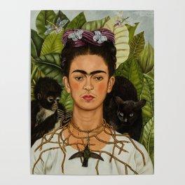 Frida Kahlo Painting I Poster