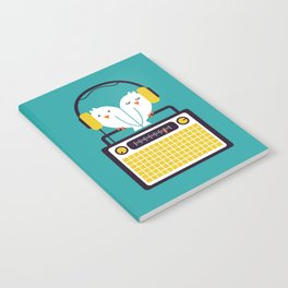 Radio Mode Love Notebook