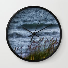 Blowing Sea Oats Wall Clock