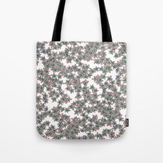 Little Colorful Flowers Tote Bag