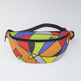 Abs space grey Fanny Pack