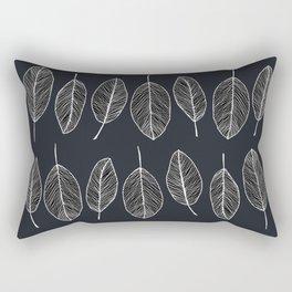 Dark leaves Rectangular Pillow