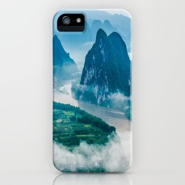 Li River in Guilin China 2 iPhone Case