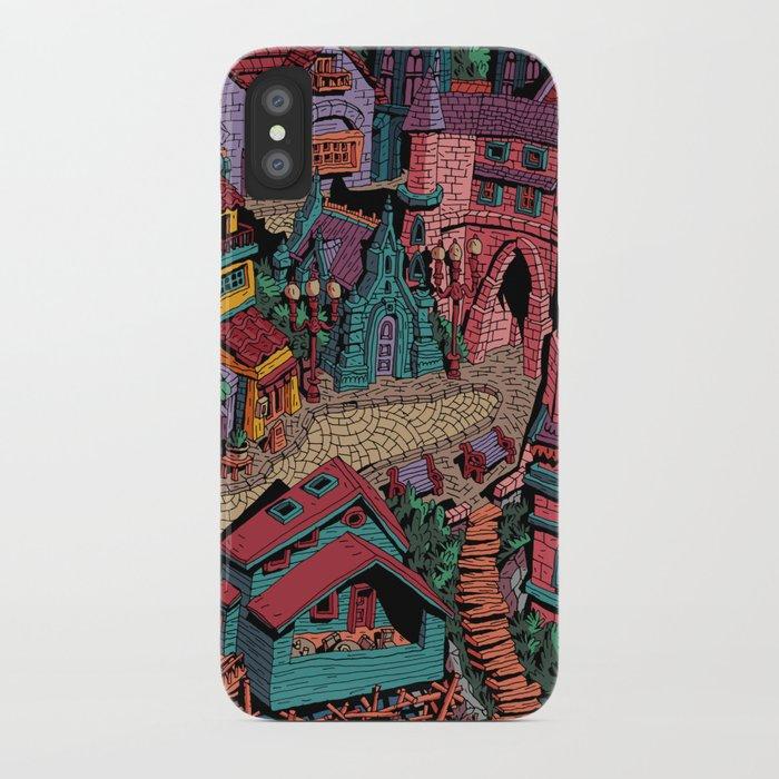 Capharnaüm City (Color) iPhone Case
