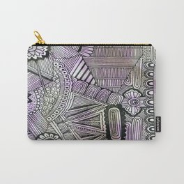 Abstract Crazy Doodle 2 Carry-All Pouch