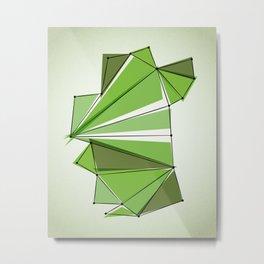 Origami 32 Metal Print