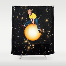 Star Hopper 2 Shower Curtain