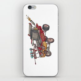 The Dragon Wagon iPhone Skin