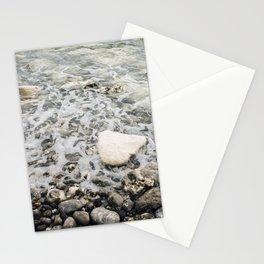 Pastel pebble beach Etretat, Normandy, France - Travel Photography fine art wall print Art Print Stationery Cards
