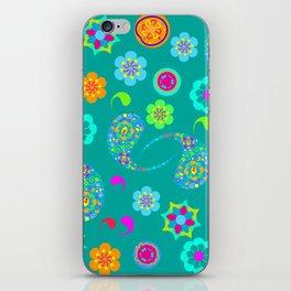 Green Paisley № 5 iPhone Skin