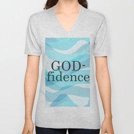 God-fidence Unisex V-Neck