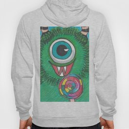 Monster with Candy Hoody