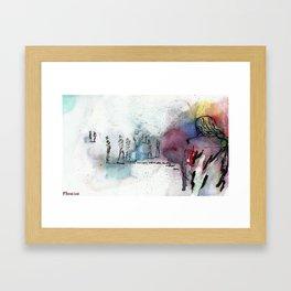 Nothing Changes Framed Art Print