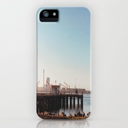 Dock With Mill-Film Camera iPhone Case