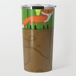 Earth Fox Travel Mug