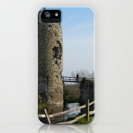 Exploring Ruins iPhone Case
