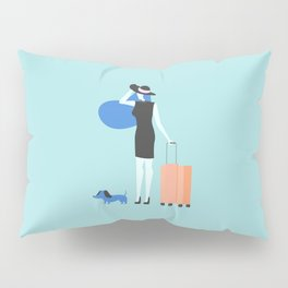 traveling is always good Pillow Sham