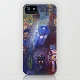 """""""13 in 50"""" a Tribute to Doctor Who iPhone Case"""