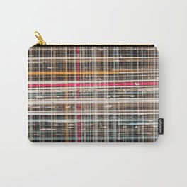structure with red lines Carry-All Pouch