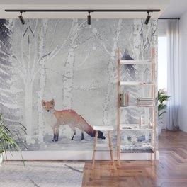 FOX FOX FOX Wall Mural