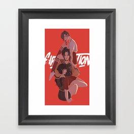 Fire Nation Babes Framed Art Print