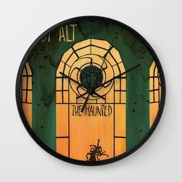 The Haunted (Bobby Alt) Wall Clock