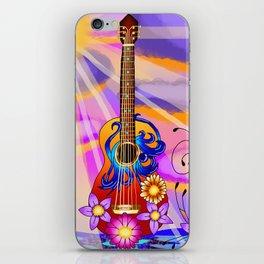 Keyblade Guitar #1 - Kairi's Keyblade iPhone Skin