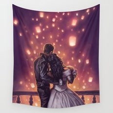 Lights of Hope Wall Tapestry