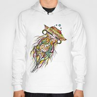 jelly fish Hoodies featuring Jelly Fish by Minimynimo