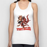 gnome Tank Tops featuring Gnome by Traaw