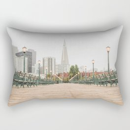 Falling in Love with San Francisco Rectangular Pillow