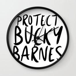 Protect Bucky! Wall Clock