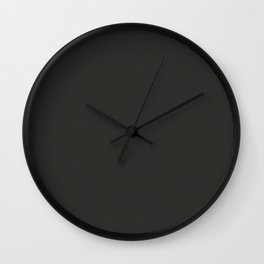 Knurling touch texture Wall Clock