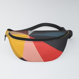 Abstract Geometric Art Colorful Design 502 Fanny Pack