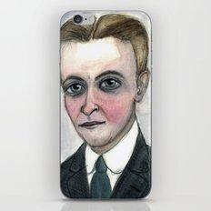 This Side of Fitzgerald, F. Scott Fitzgerald Literary Portrait iPhone & iPod Skin