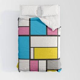 New Mondrian Color Art Comforters